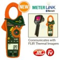 EX840/EX845 CAT IV 1000A True RMS AC/ DC Clamp Meters + IR Thermometer